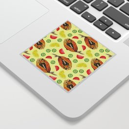 Milkfish Pattern Sticker