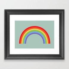 Rainbow Sky Framed Art Print