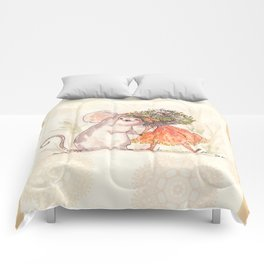 Thumbelina and the Mouse! Comforters