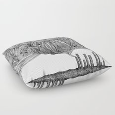 SMOKE Floor Pillow