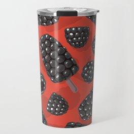 Blackberry and blackberry ice cteam pattern Travel Mug