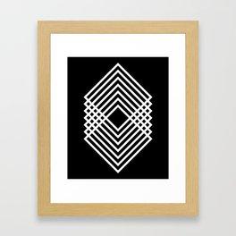 Squared Framed Art Print