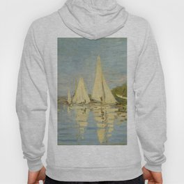 "Claude Monet ""Regattas at Argenteuil"" Hoody"