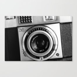 Vintage Film Camera Canvas Print