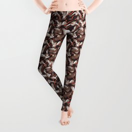 Owls with Ribbon Leggings