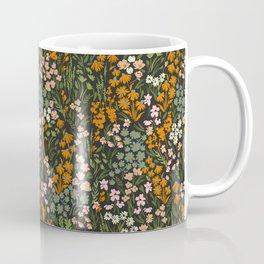 Night in the flowered meadow Coffee Mug