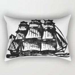 Merchant ship Rectangular Pillow