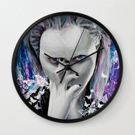 An Eye for an Eye Wall Clock