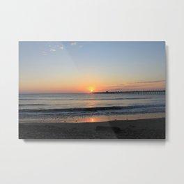 Sunset at Peru Metal Print