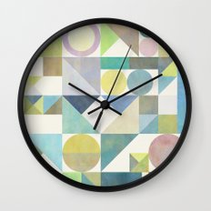 Nordic Combination 21 Wall Clock