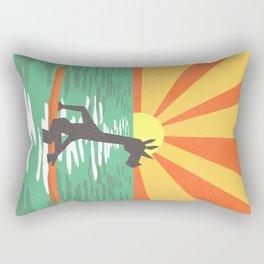 Surf Unicorn Rectangular Pillow