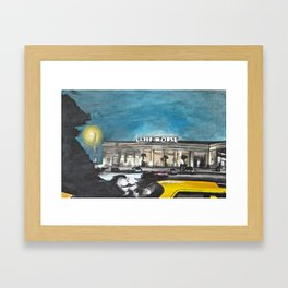 The Cliffhouse Framed Art Print