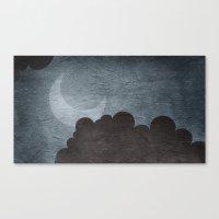 walk the moon Canvas Prints featuring Moon Walk by Robin Curtiss