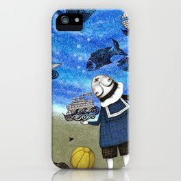 Day on the Beach iPhone Case