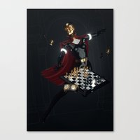chess Canvas Prints featuring Chess by Guilherme Marconi