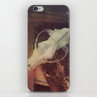 cabin iPhone & iPod Skins featuring Cabin by ztwede