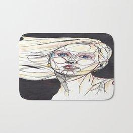 Psychedelic Self Bath Mat