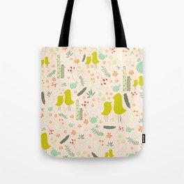 Love Like Birds Tote Bag