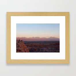 Moon Valley - Valle de la Luna Framed Art Print