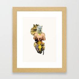 Sexy Polar Bear Framed Art Print