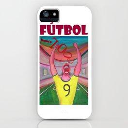 Grito de gol por Diego Manuel iPhone Case