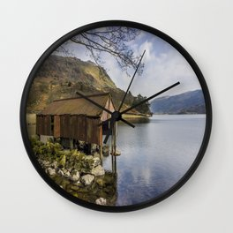 The Old Boathouse Wall Clock