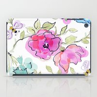 bees iPad Cases featuring bees by Ariadne