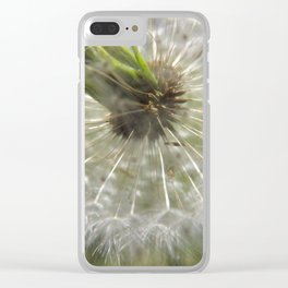 Close Your Eyes And Make A Wish Clear iPhone Case