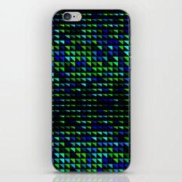fete triangle pattern iPhone Skin