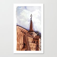 The first good day in spring Canvas Print