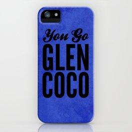 Glen Coco Blue iPhone Case