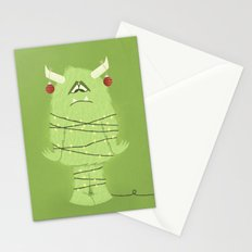 Holiday Monster Stationery Cards