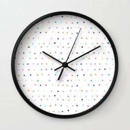 confetti dots Wall Clock