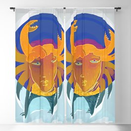 Cancer / Altarf / Zodiac Blackout Curtain