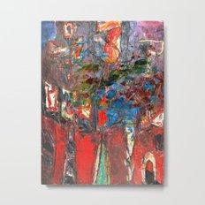 I Awoke Thinking Basquiat Metal Print