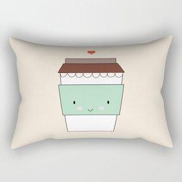 Bring coffee Rectangular Pillow
