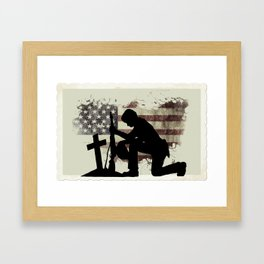 The Cost of Freedom Framed Art Print
