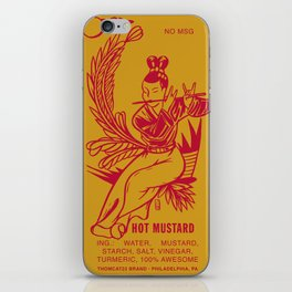 Hot Mustard iPhone Skin