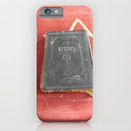 Religious torah book ancient classics iPhone Case