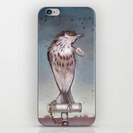 Yearning on a limb. (Bird) iPhone Skin