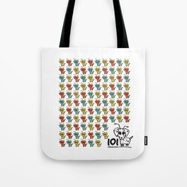 101 dalmartians Tote Bag