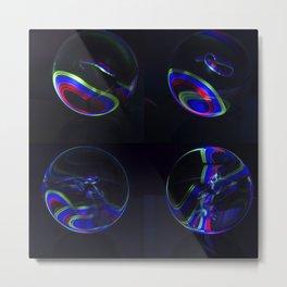 The Light Painter 20 Metal Print