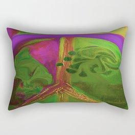 arching peace Rectangular Pillow