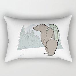 Goin' up the country Rectangular Pillow