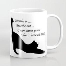 When inner peace eludes one Coffee Mug