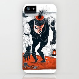 The Haunted Conductor iPhone Case