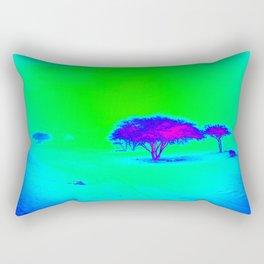 Thermal art 012 Rectangular Pillow