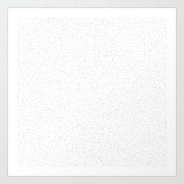 Catskill White Art Print