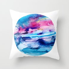 Planetary No.2 Throw Pillow
