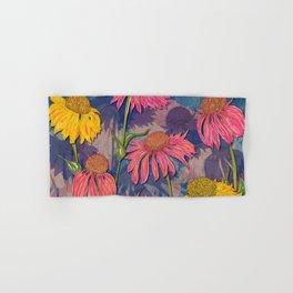 Colourful Coneflowers Hand & Bath Towel